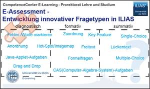 E-Assessment – Entwicklung innovativer Fragetypen in ILIAS