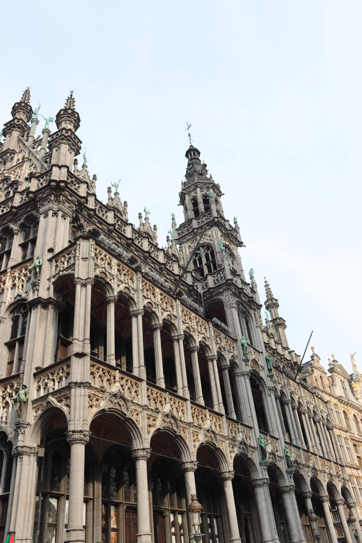 Building at the Grand Place in Brussels