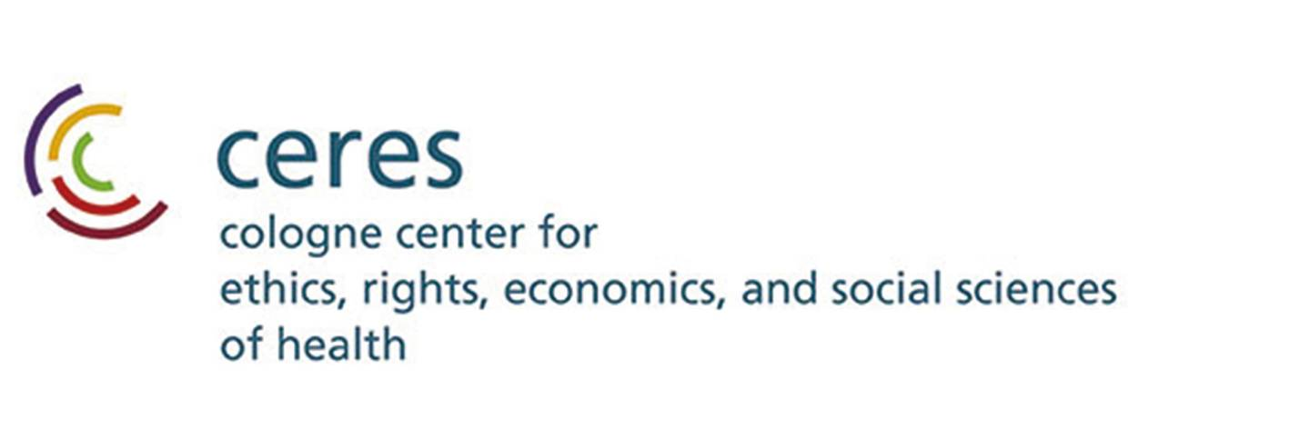ceres, Cologne Center for Ethics, Rights, Economics, and Social Sciences of Health logo