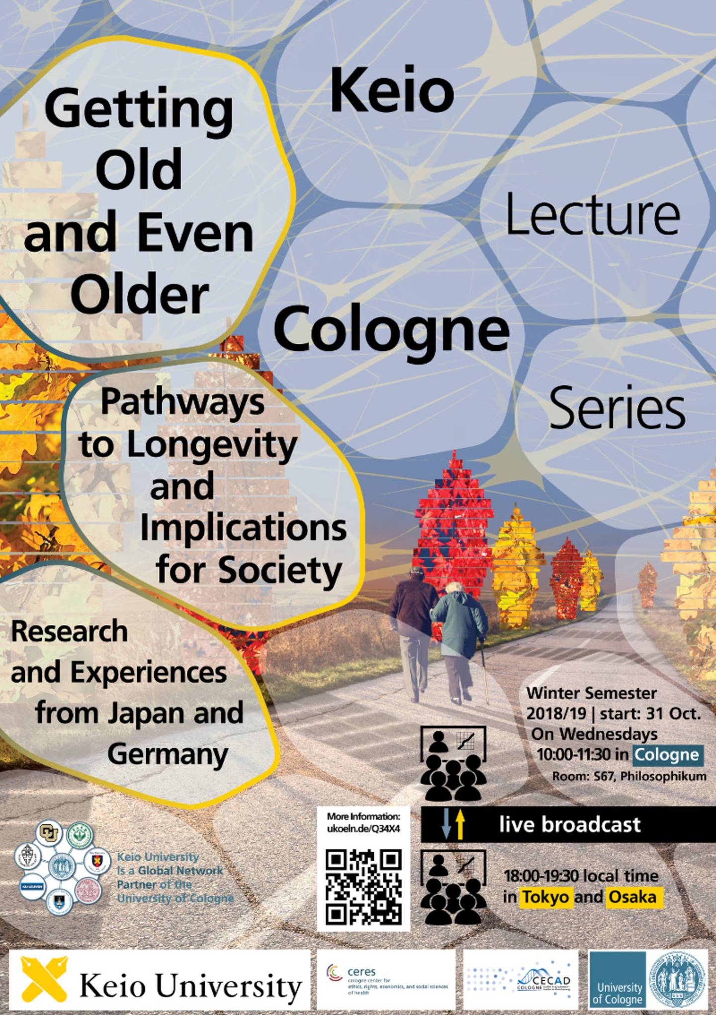 Keio Cologne Lecture Series  Title: Getting Old and Even Older – Pathways to Longevity and Implications for Society