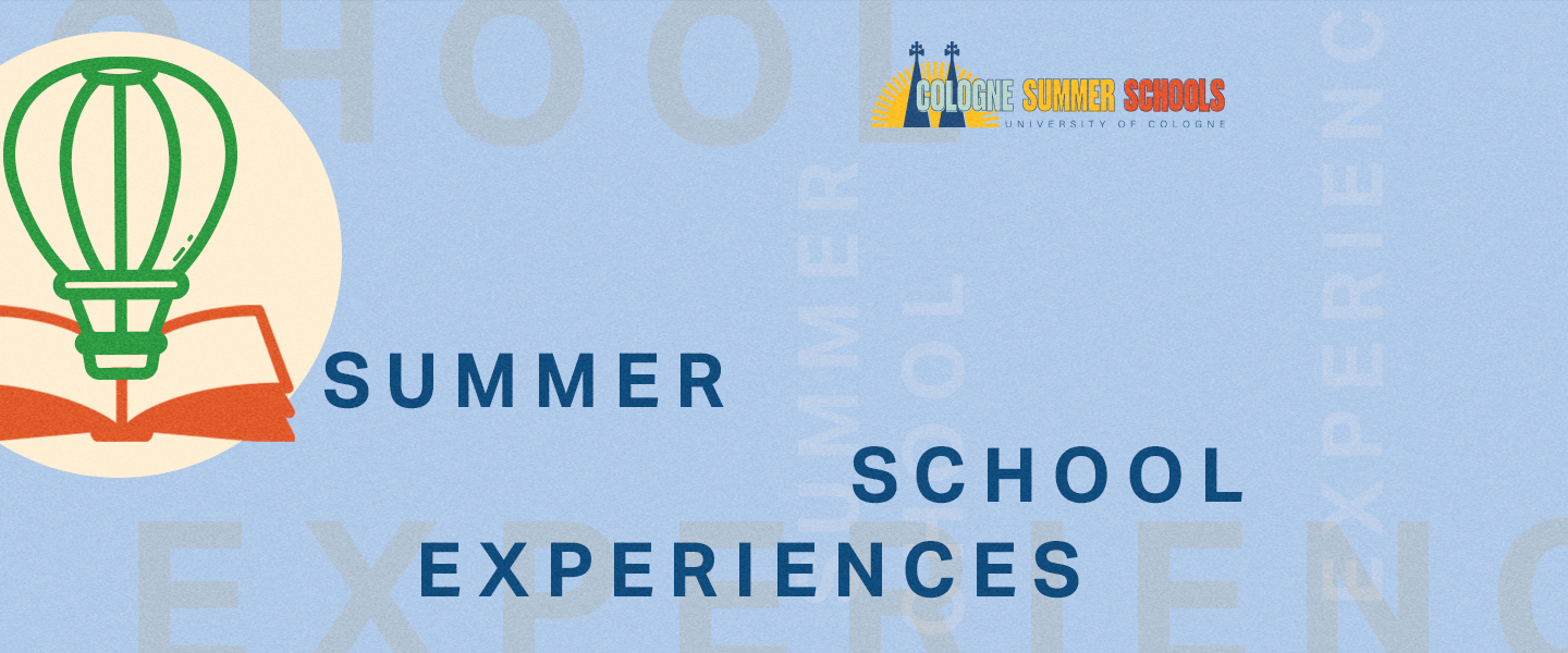 "Header for the section ""Summer School Experiences"""