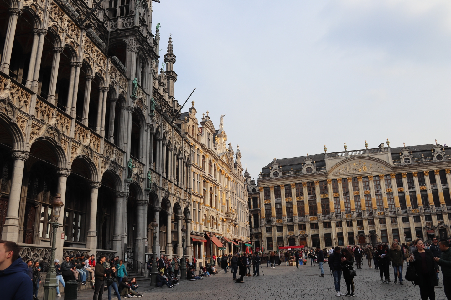 The Grand Place (Grote Markt) in Brussels