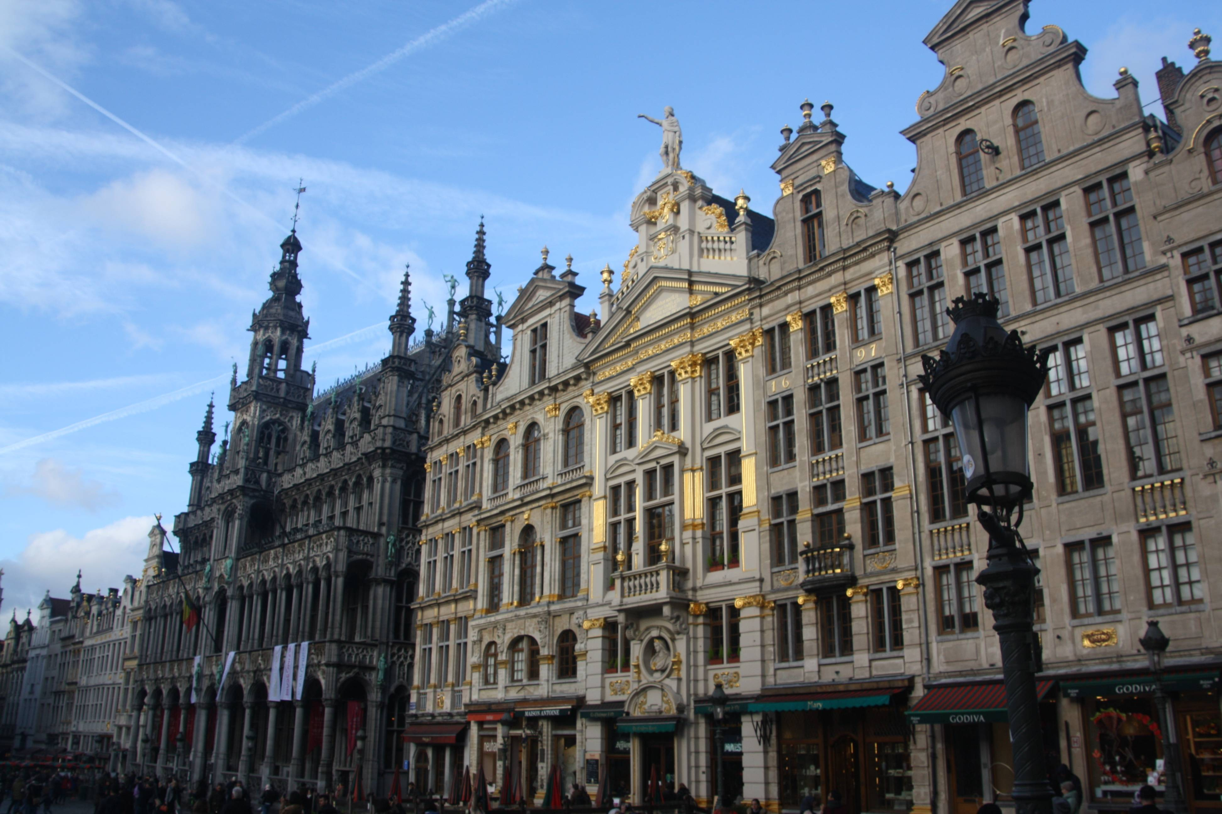 Grote Markt (engl. Grand Place) in Brussels